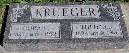KRUEGER, TED & CORA E. - Ida County, Iowa | TED & CORA E. KRUEGER