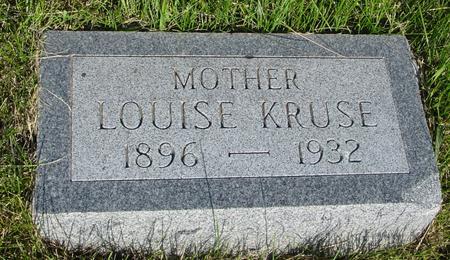 KRUSE, LOUISE - Ida County, Iowa | LOUISE KRUSE