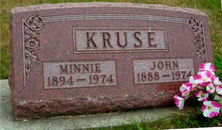 KRUSE, MINNIE & JOHN - Ida County, Iowa | MINNIE & JOHN KRUSE