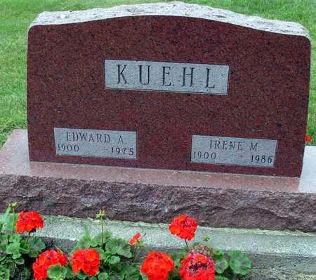 KUEHL, EDWARD & IRENE - Ida County, Iowa   EDWARD & IRENE KUEHL