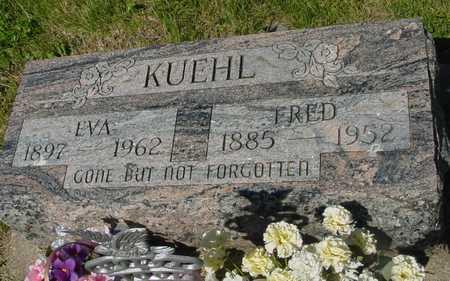 KUEHL, FRED & EVA - Ida County, Iowa   FRED & EVA KUEHL