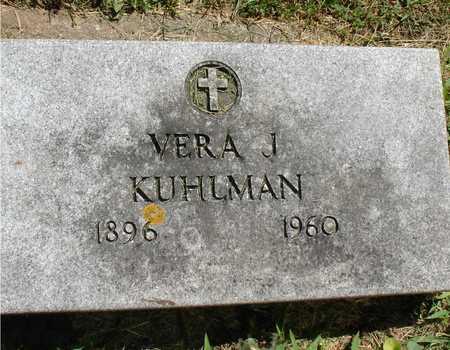 KUHLMAN, VERA J. - Ida County, Iowa   VERA J. KUHLMAN
