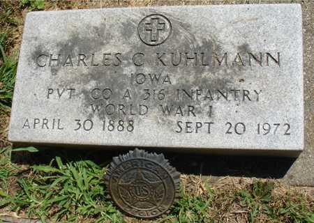 KUHLMANN, CHARLES C. - Ida County, Iowa | CHARLES C. KUHLMANN