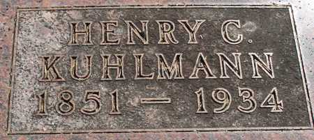 KUHLMANN, HENRY C. - Ida County, Iowa | HENRY C. KUHLMANN