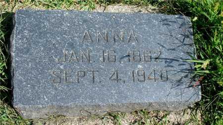 KUHRTS, ANNA - Ida County, Iowa | ANNA KUHRTS