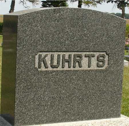 KUHRTS, FAMILY MARKER - Ida County, Iowa | FAMILY MARKER KUHRTS