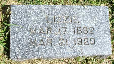 KUHRTS, LIZZIE - Ida County, Iowa   LIZZIE KUHRTS