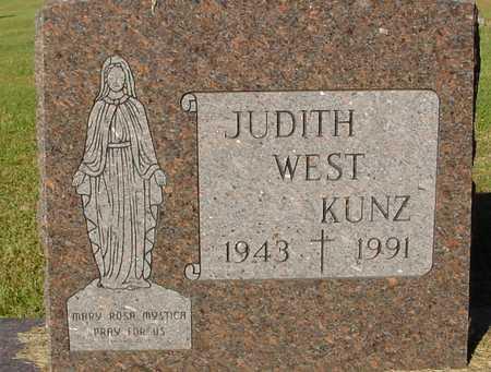 WEST KUNZ, JUDITH - Ida County, Iowa | JUDITH WEST KUNZ