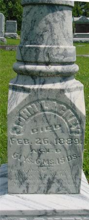 LACKEY, JOHN - Ida County, Iowa | JOHN LACKEY