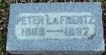 LAFRENTZ, PETER - Ida County, Iowa | PETER LAFRENTZ