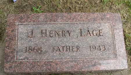 LAGE, J. HENRY - Ida County, Iowa | J. HENRY LAGE