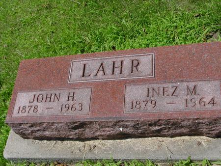 LAHR, JOHN H. - Ida County, Iowa | JOHN H. LAHR