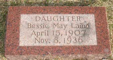 LAING, BESSIE MAY - Ida County, Iowa   BESSIE MAY LAING