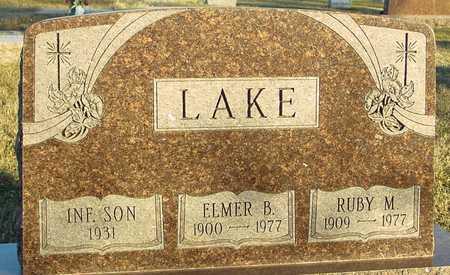 LAKE, ELMER B. - Ida County, Iowa   ELMER B. LAKE