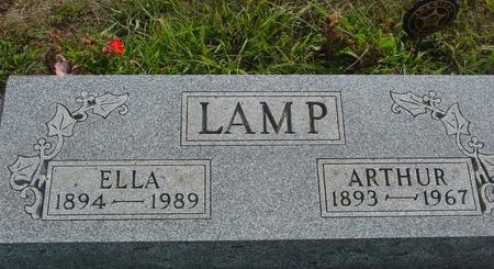 LAMP, ARTHUR & ELLA - Ida County, Iowa | ARTHUR & ELLA LAMP