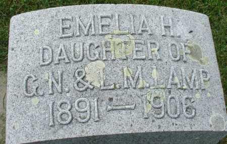 LAMP, EMELIA H. - Ida County, Iowa | EMELIA H. LAMP