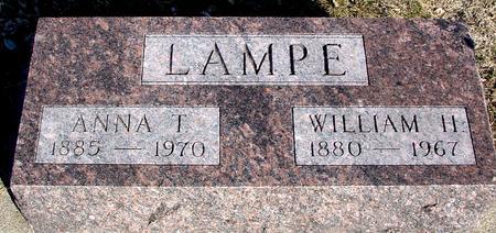 LAMPE, WILLIAM H. & ANNA T. - Ida County, Iowa | WILLIAM H. & ANNA T. LAMPE