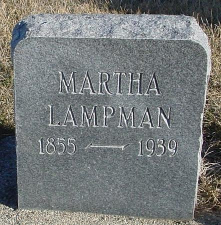 LAMPMAN, MARTHA - Ida County, Iowa | MARTHA LAMPMAN