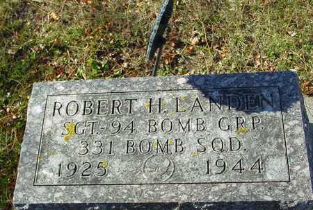 LANDEN, ROBERT H. - Ida County, Iowa   ROBERT H. LANDEN