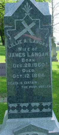 LANGAN, LILLIE - Ida County, Iowa | LILLIE LANGAN