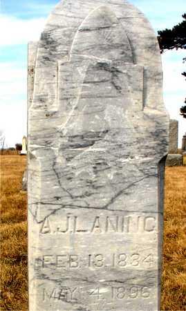 LANING, A. J. - Ida County, Iowa | A. J. LANING