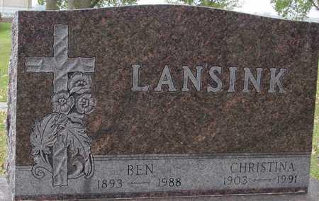 LANSINK, BEN & CHRISTINA - Ida County, Iowa | BEN & CHRISTINA LANSINK