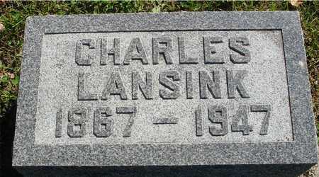 LANSINK, CHARLES - Ida County, Iowa   CHARLES LANSINK