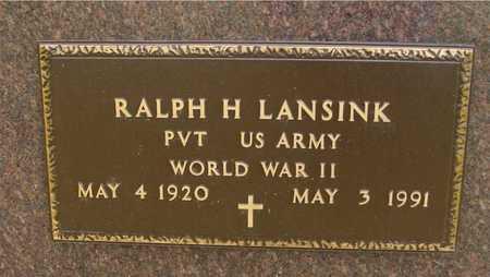 LANSINK, RALPH H. - Ida County, Iowa | RALPH H. LANSINK