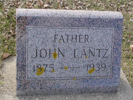 LANTZ, JOHN - Ida County, Iowa | JOHN LANTZ