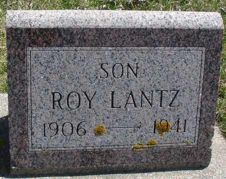 LANTZ, ROY - Ida County, Iowa   ROY LANTZ