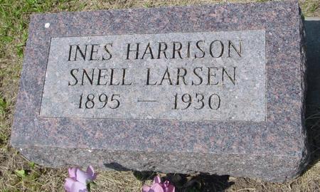 LARSEN, INES - Ida County, Iowa | INES LARSEN