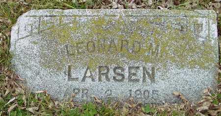 LARSEN, LEONARD M. - Ida County, Iowa | LEONARD M. LARSEN