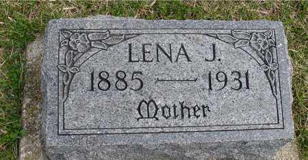 LARSEN, LENA J. - Ida County, Iowa | LENA J. LARSEN