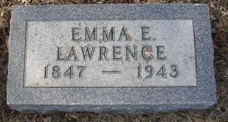 LAWRENCE, EMMA E. - Ida County, Iowa | EMMA E. LAWRENCE