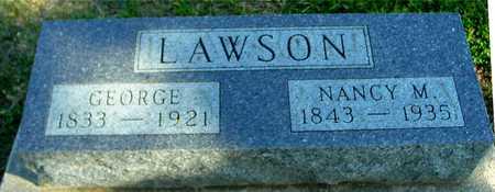 LAWSON,  GEORGE & NANCY - Ida County, Iowa    GEORGE & NANCY LAWSON