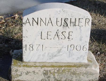USHER LEASE, ANNA - Ida County, Iowa | ANNA USHER LEASE