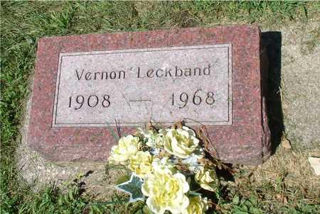 LECKBAND, VERNON - Ida County, Iowa   VERNON LECKBAND