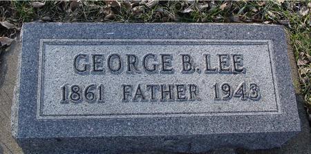 LEE, GEORGE B. - Ida County, Iowa | GEORGE B. LEE