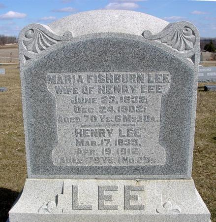 LEE, HENRY & MARIA - Ida County, Iowa | HENRY & MARIA LEE