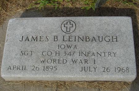 LEINBAUGH, JAMES B. - Ida County, Iowa | JAMES B. LEINBAUGH