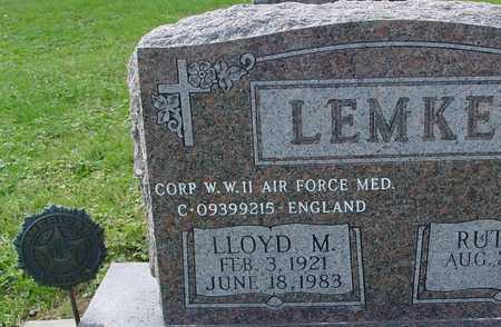 LEMKE, LLOYD M. - Ida County, Iowa | LLOYD M. LEMKE
