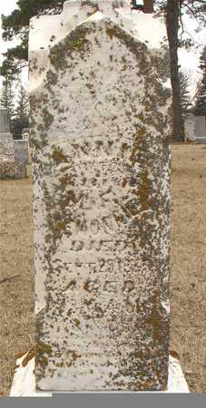 LEMONNIER, ANNIE - Ida County, Iowa   ANNIE LEMONNIER