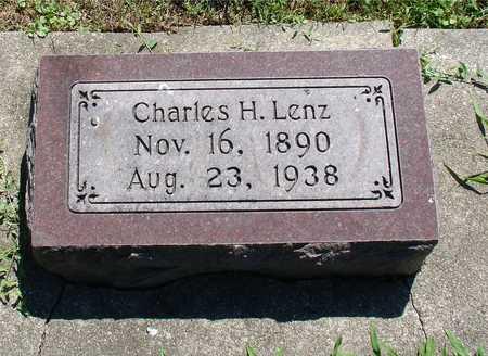 LENZ, CHARLES H. - Ida County, Iowa   CHARLES H. LENZ