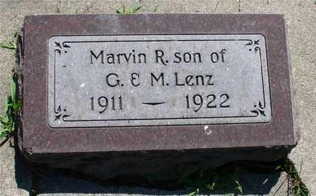 LENZ, MARVIN R. - Ida County, Iowa   MARVIN R. LENZ
