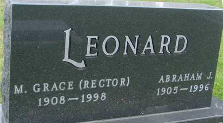 LEONARD, ABRAHAM & GRACE - Ida County, Iowa | ABRAHAM & GRACE LEONARD