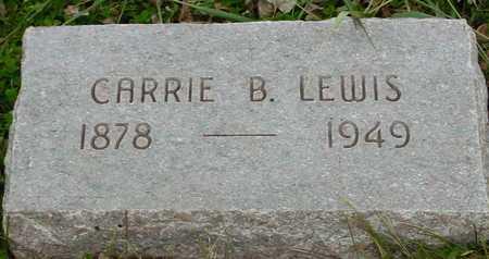 LEWIS, CARRIE B. - Ida County, Iowa | CARRIE B. LEWIS