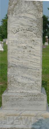LEWIS, ESTHER B. - Ida County, Iowa | ESTHER B. LEWIS