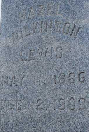 WILKINSON LEWIS, HAZEL - Ida County, Iowa | HAZEL WILKINSON LEWIS