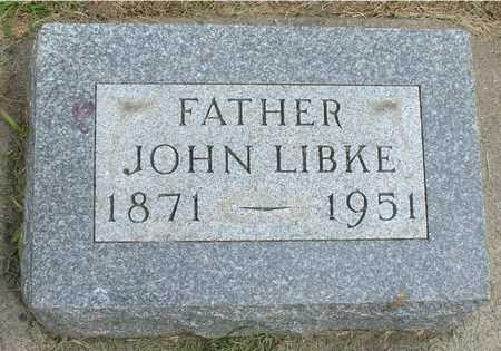 LIBKE, JOHN - Ida County, Iowa | JOHN LIBKE