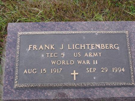 LICHTENBERG, FRANK - Ida County, Iowa   FRANK LICHTENBERG